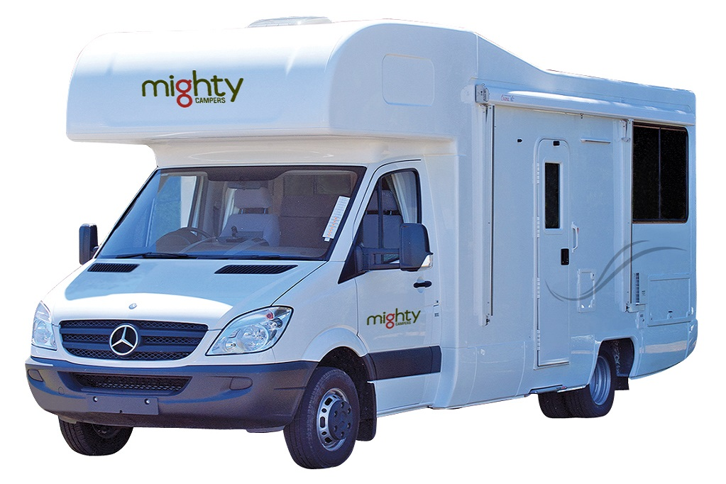 Mighty Campers NZ 4 Berth Double Up