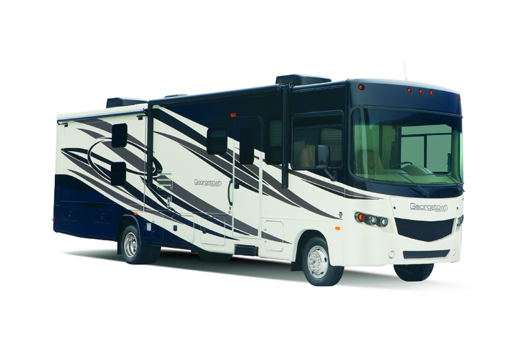 Outdoor Travel Class A 35' with Slideout & Bunks Premium