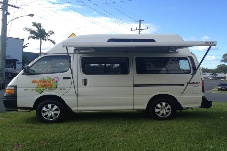 Driveabout Campers 3 Seater Maxi Camper