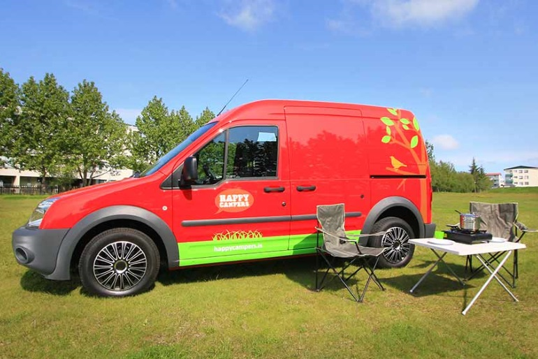 Happy 1 Ford Transit Connect Or Similar Motorhome Rental