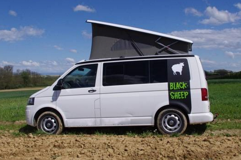 Blacksheep Campervan Rental California Beach