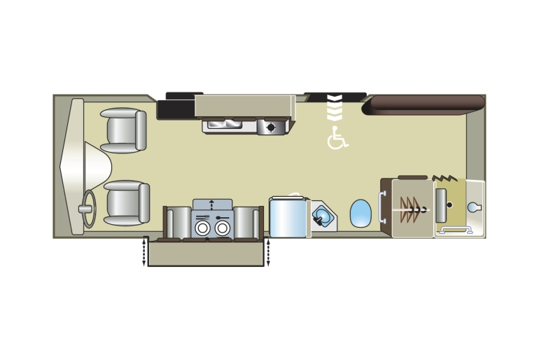 Mh 27sw wheelchair accessible rv rental canada House plans for disabled people