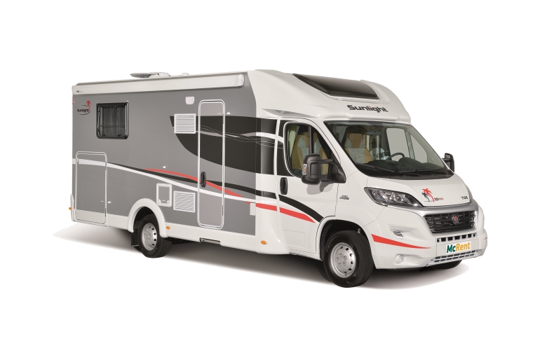 McRent Ireland Family Standard Sunlight T67 or similar