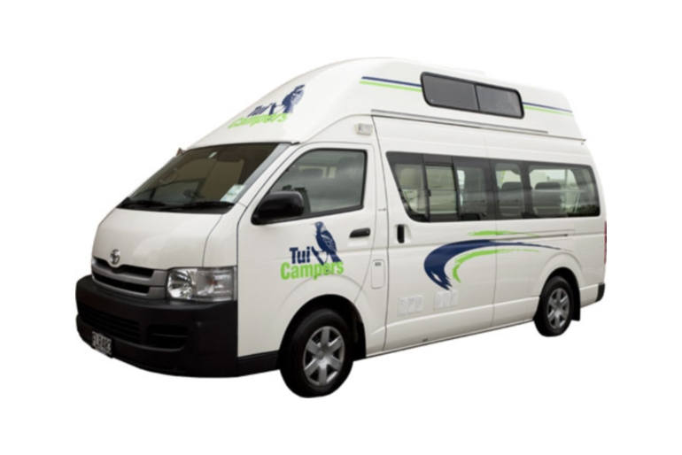 Tui Campers NZ Hi Top 4+1 Family Trail Finder