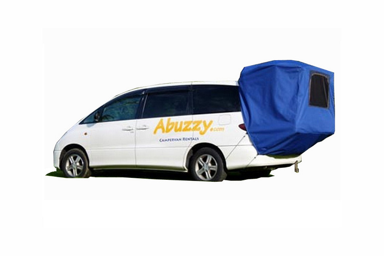 Abuzzy Motorhome Rentals New Zealand Abuzzy 2 Berth Deluxe