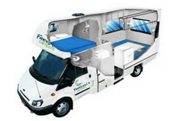 Freedom Campers NZ Path Escape 4/5 Berth