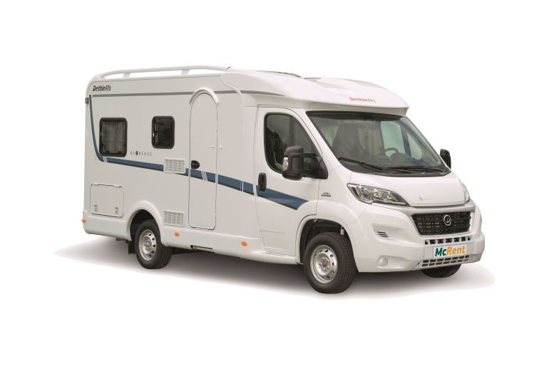 McRent NZ Compact Plus Globebus T1 or similar