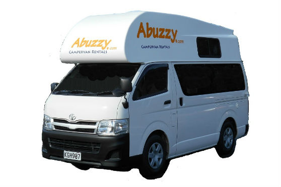 Abuzzy Motorhome Rentals New Zealand Abuzzy 3 Berth Top