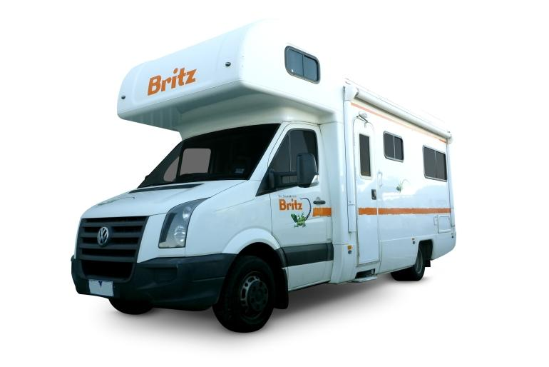 Britz Campervan Rentals AU (Domestic) 4 Berth - Explorer