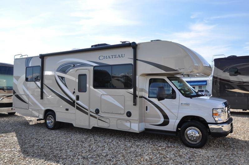 30ft class c thor chateau w 1 slide out u rv rental usa for Motor homes to rent