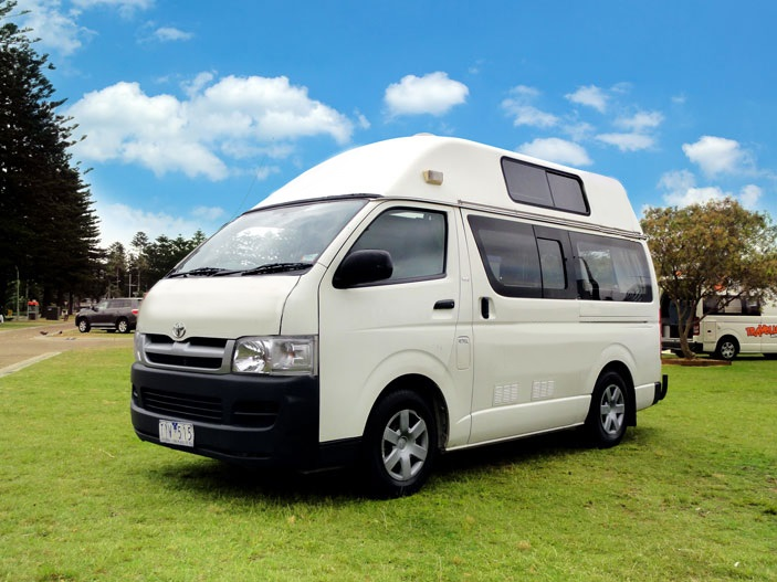 Comet Campers NZ Hitop Campervan