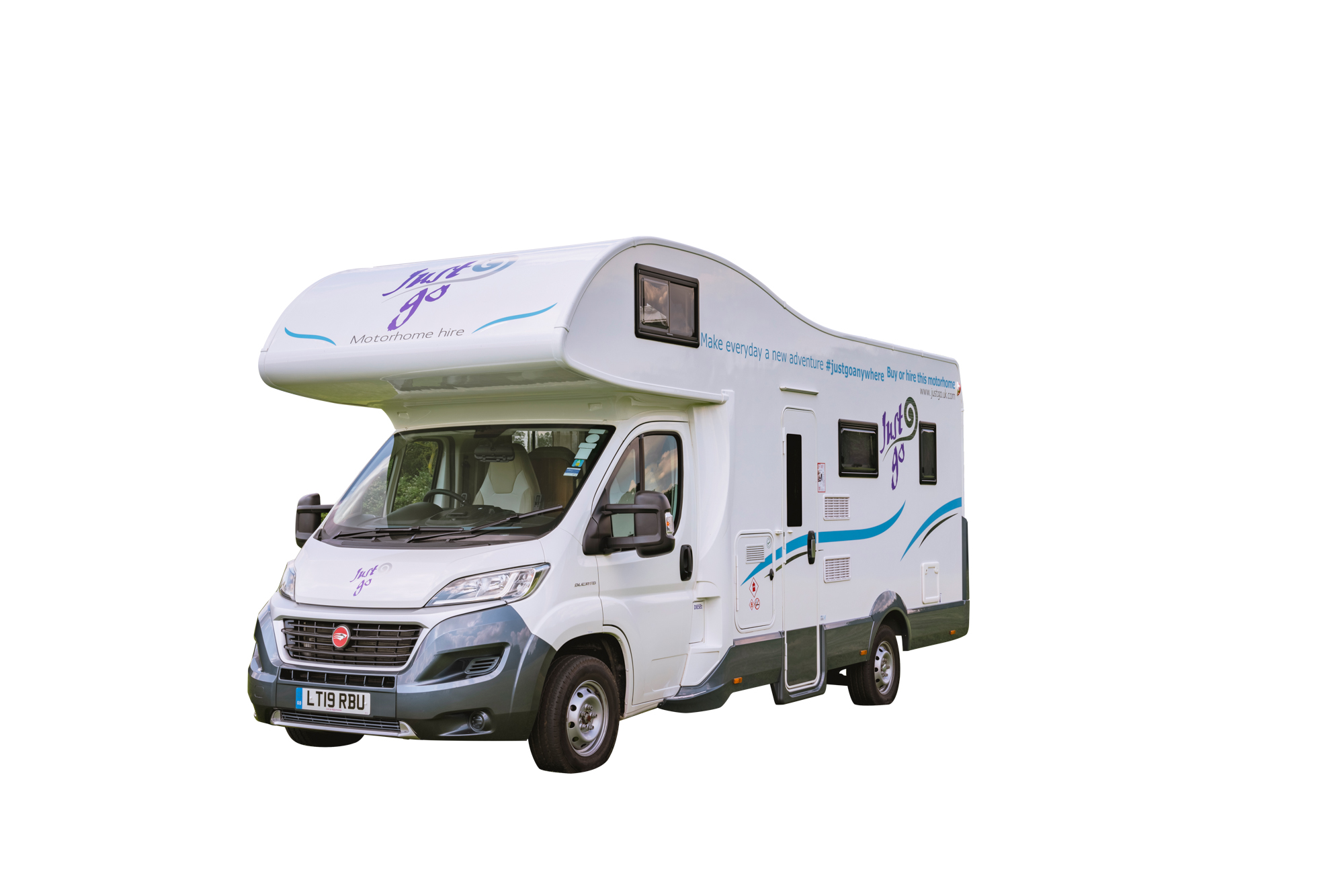 Just Go Motorhomes UK 6 Berth Rambler