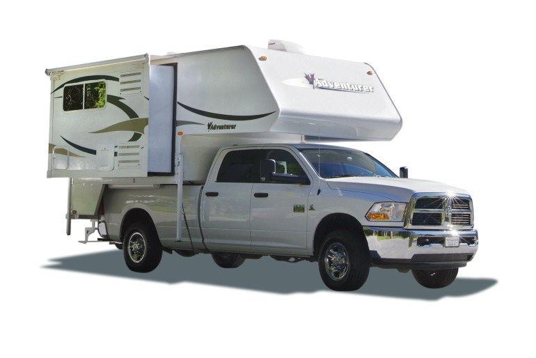 Fraserway RV Rentals TC-S (Truck Camper with Slideout)