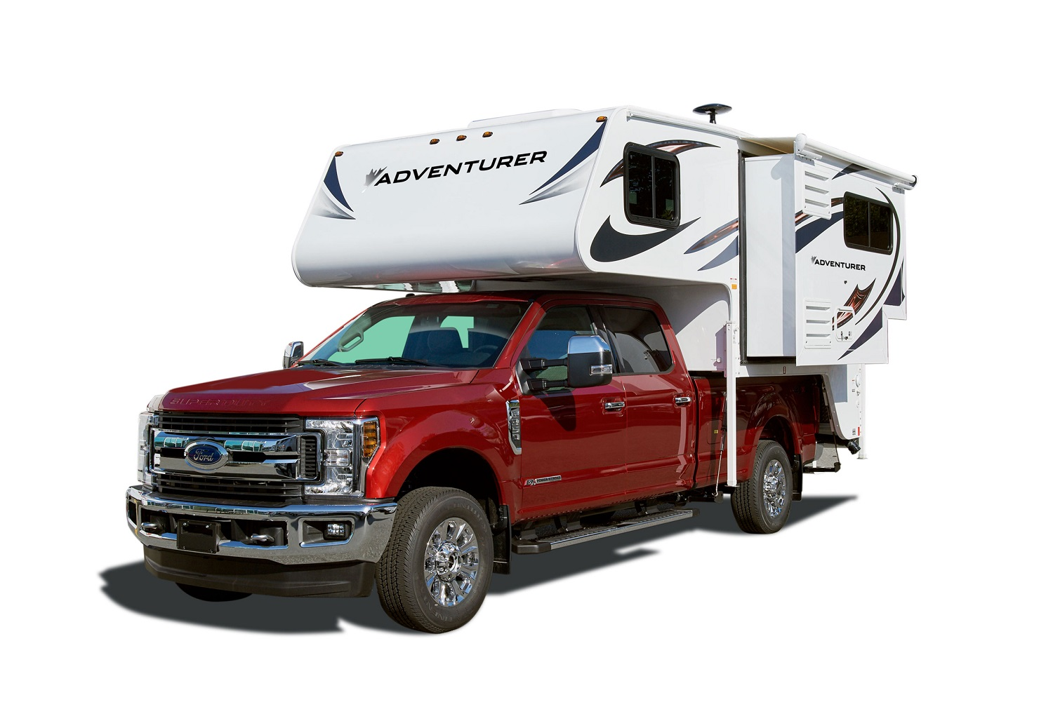 Compass Campers Canada TC-S (Truck Camper with Slideout)