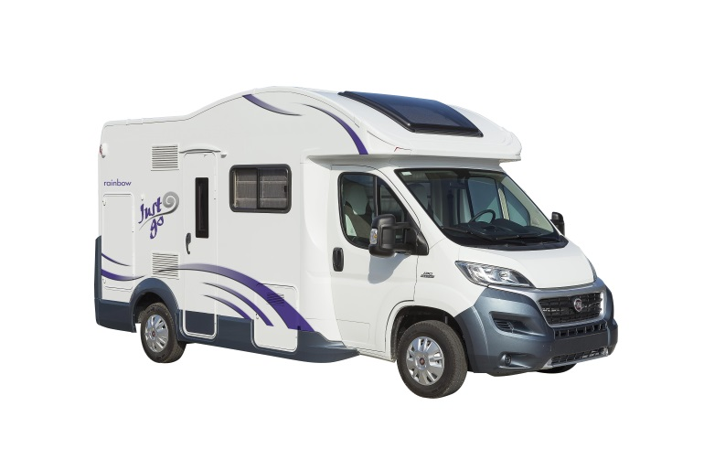 Just Go Motorhomes UK 4 Berth Motorhome Twin Rear Beds