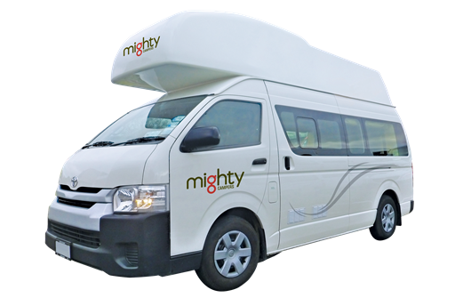 Mighty Campers NZ 4 Berth Doubledown