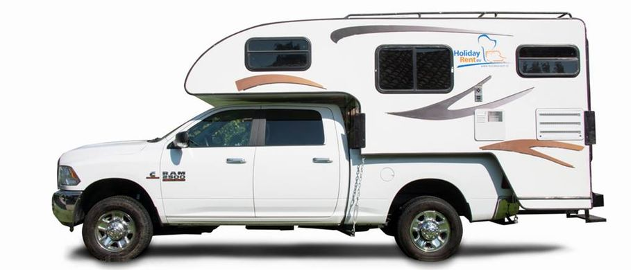 Holiday Rent Atacama Camper 4x4 double cab