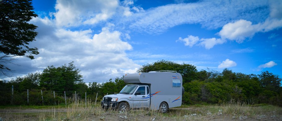 Holiday Rent Andino Camper 4x4 Single Cab