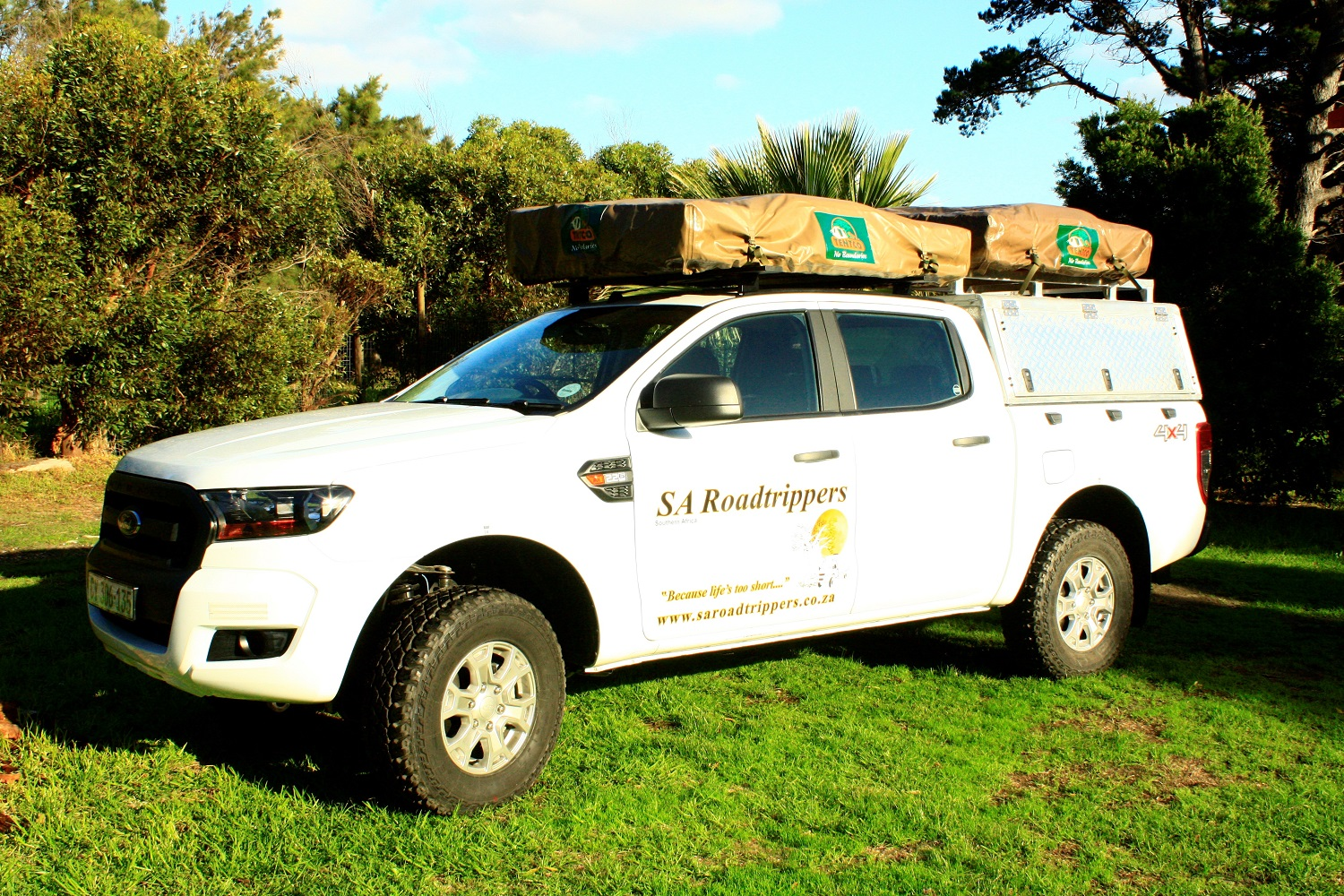 SA Roadtrippers Ford Ranger 4x4 Double Cab