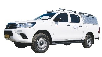 Caprivi Camper Hire Toyota Hilux Double Cab 2.4L without Camping equipment (3)