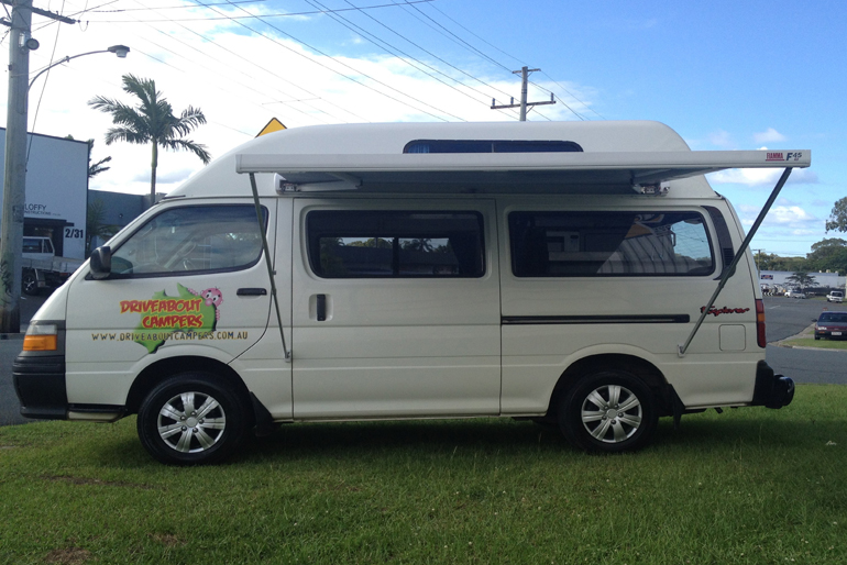 Driveabout Campers 5 Seater Maxi Camper Family