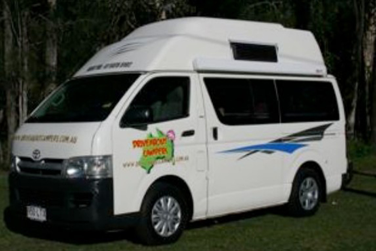 Driveabout Campers Maxi Van Plus
