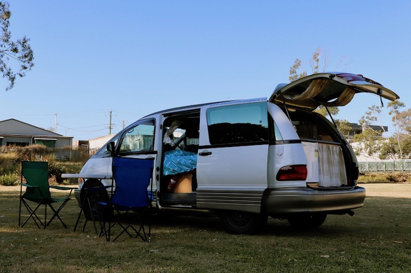 7666ed1618 Awesome Deluxe Camper - Campervan Hire Australia