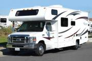 24ft Class C Freelander Silver rv rentals alaska