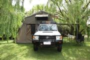 Safari Landcruiser 4WD campervan hire australia