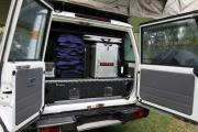 Britz Campervan Rentals Safari Landcruiser 4WD campervan rental perth