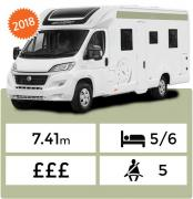 Landcruise Motorhome Hire Swift Escape 694