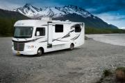 Camper1 Alaska 30ft Class A Thor Evo Silver motorhome motorhome and rv travel