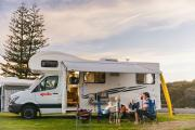 Apollo Motorhomes NZ Domestic 4 Berth Euro Star motorhome rental new zealand