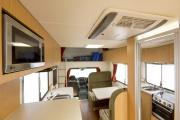 Apollo Motorhomes NZ Domestic 4 Berth Euro Star new zealand airport campervan hire
