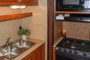 Camper1 Alaska 28ft Class C Freelander Gold rv rentals alaska