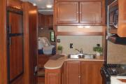 Camper1 Alaska 28ft Class C Freelander Gold motorhome rental anchorage alaska