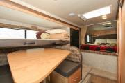 Compass Campers Canada TC-B (Truck Camper with Bunk Bed) motorhome rental calgary
