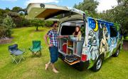 Escape Rentals New Zealand Standard Escape Campervan motorhome rental new zealand