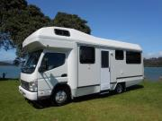 Coastal Campers New Zealand 6 berth motorhomes campervan hire auckland