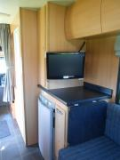 Coastal Campers New Zealand 6 berth motorhomes campervan rental new zealand