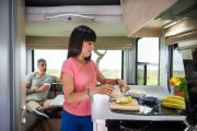 Maui Motorhomes NZ (domestic) Maui Cascade Motorhome new zealand camper van hire