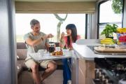 Maui Motorhomes NZ (domestic) Maui Cascade Motorhome new zealand airport campervan hire