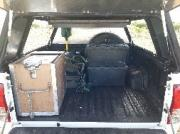 Caprivi Camper Hire Toyota Hilux Double Cab 2.4L Automatic with 1 Rooftent (2 PAX)