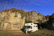 Maui Motorhomes NZ (domestic) Maui Platinum Beach Motorhome new zealand camper hire