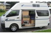 Kangaroo Campervan Rentals 2/3 berth Hi-top camper campervan rental brisbane