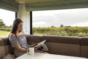 Maui Platinum River Motorhome campervan hire - new zealand