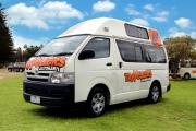 Happy 3 Berth Camper motorhome rentalnew zealand