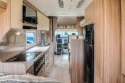 Conquest Tourer - 6 Berth Motorhome campervan hire - australia