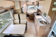 Let's Go Motorhomes AU Conquest Tourer - 6 Berth Motorhome campervan rental perth