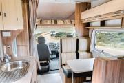 Let's Go Motorhomes AU Conquest Tourer - 6 Berth Motorhome campervan rental cairns